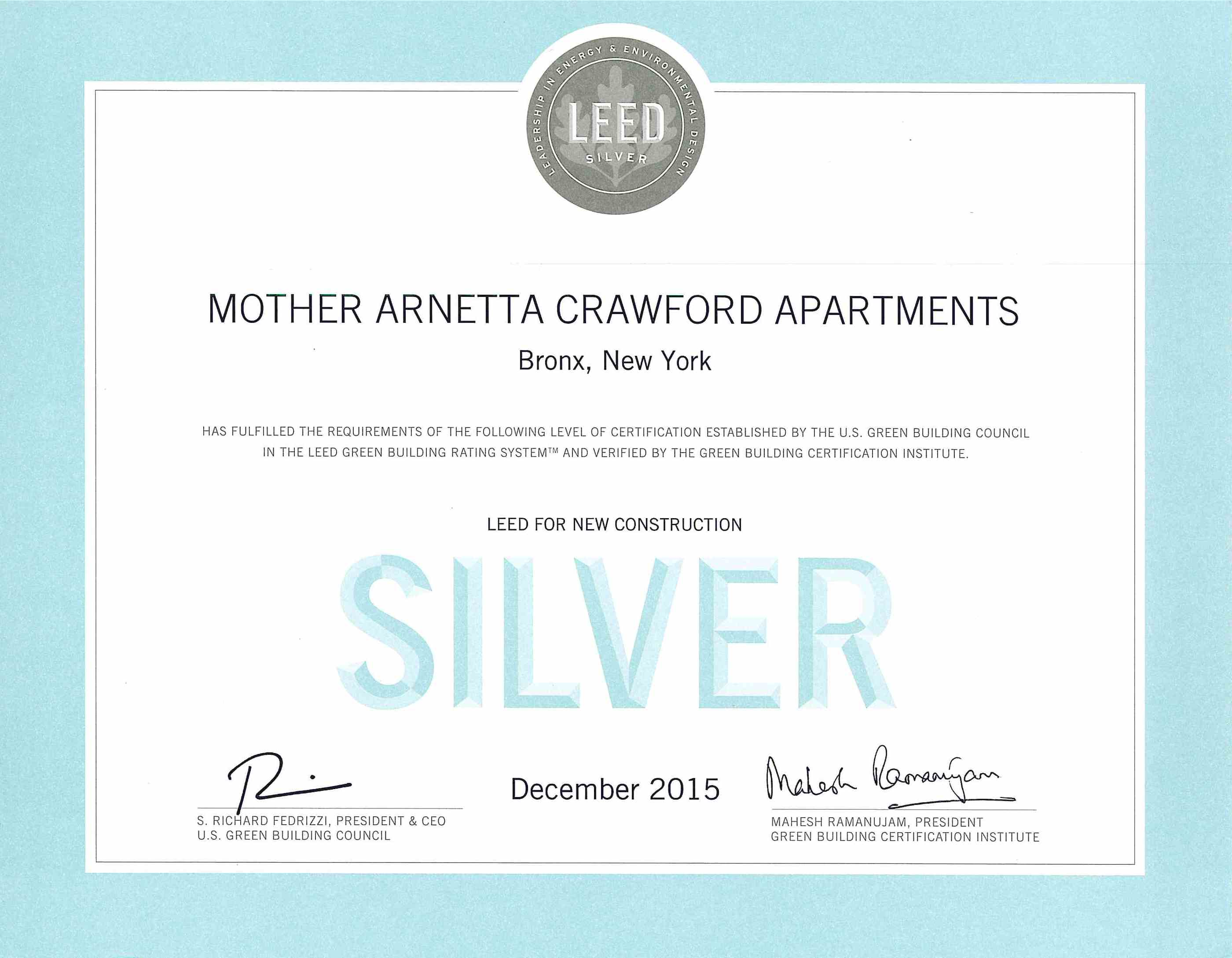 Mother arnetta crawford apartments leed certified macquesten mother arnetta crwaford apartments leed for new construction silver 1betcityfo Image collections